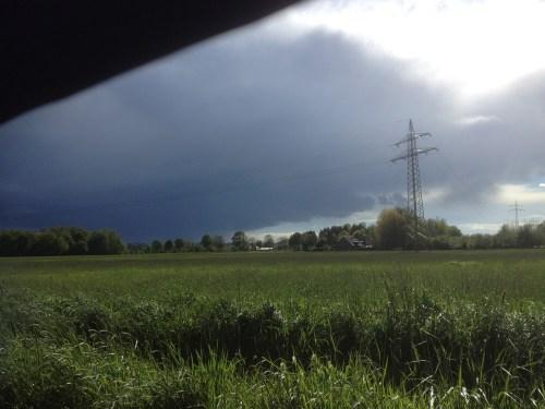 Stormy ride in Penelope