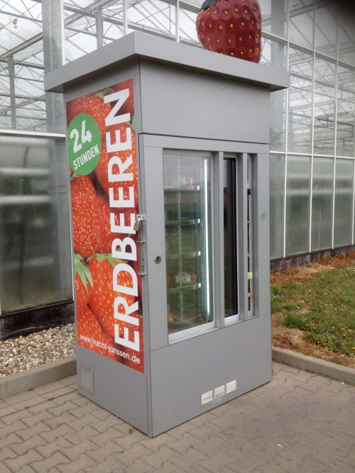 Strawberry Vending Machine 1