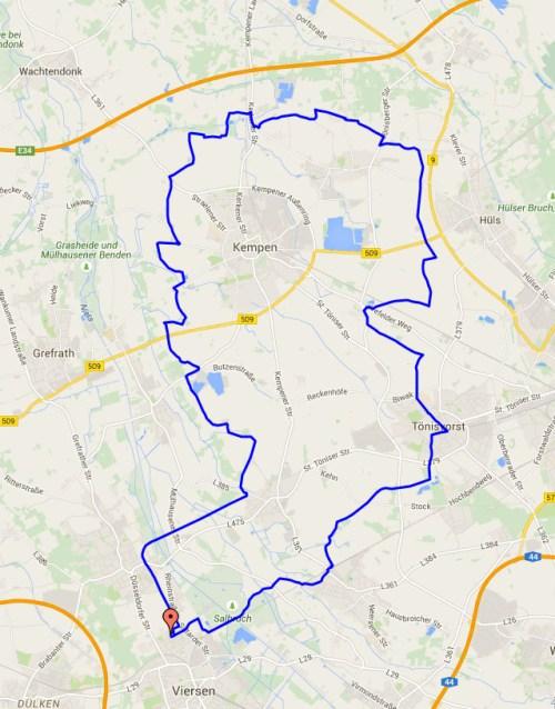 4 July Escheln Loop