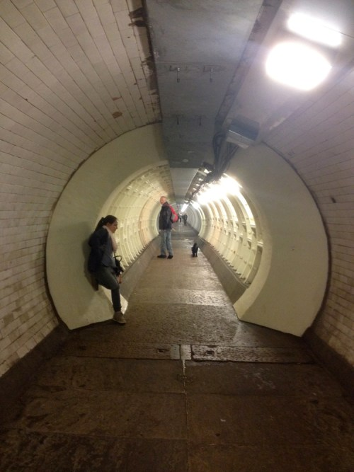 Greenwich foot tunnel