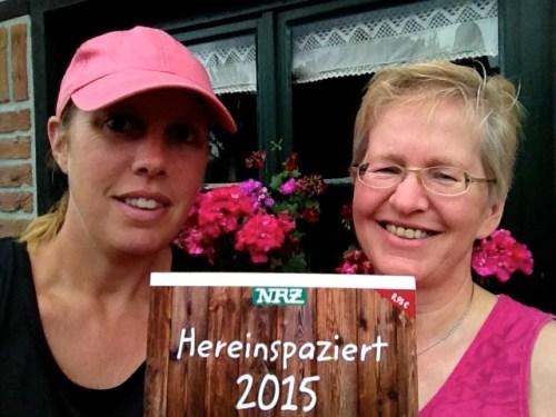 Helen and Anja