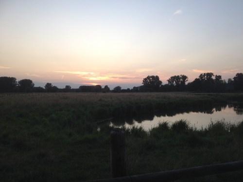 Viersen sunset