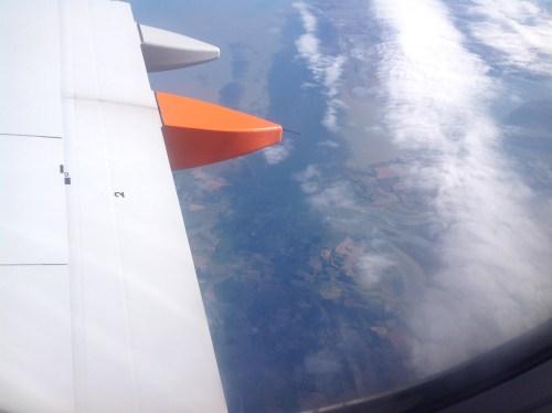 Flying over Brightlingsea
