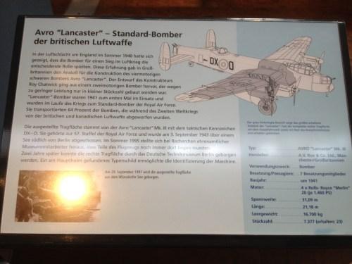Lancaster info board