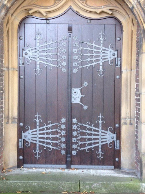 Newer Kevelaer Church Door Exterior