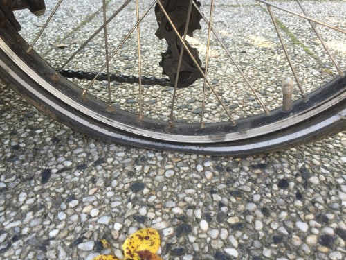 Rear puncture