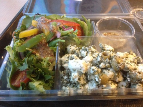 Salad on ferry