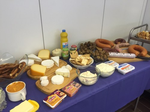 Rolf's event cheeses etc