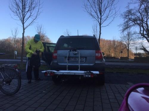 Hartmut and car