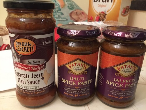 Sugar free curry sauces