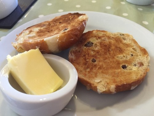 Toasted teacake