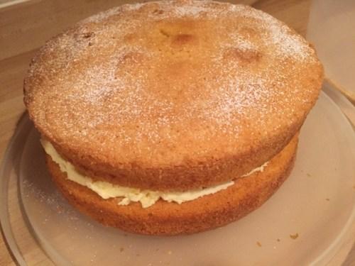 Victoria Sandwich Cake 2