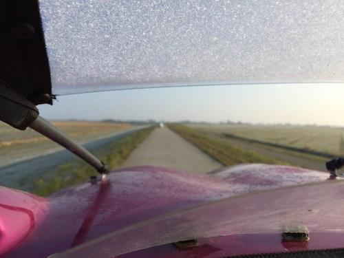 frosty windscreen