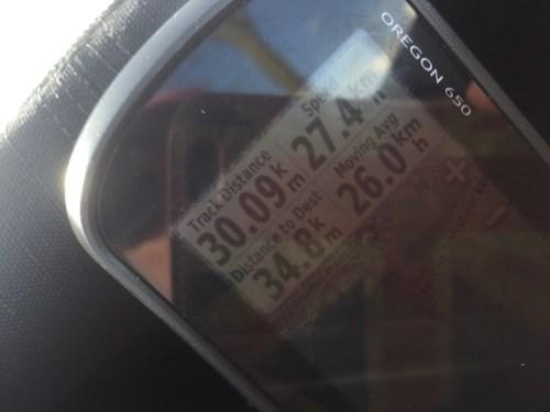 Average speed 26