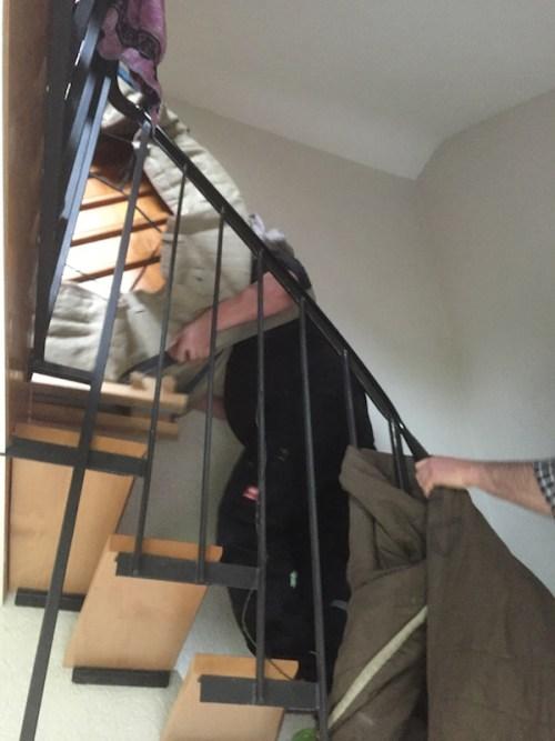 Heading upstairs 3