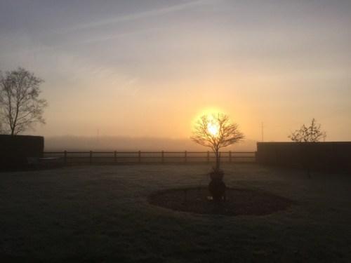 Misty Sunrise 2