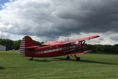Red Baron plane