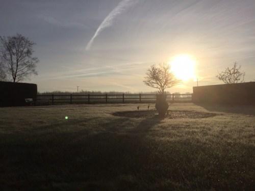 Sunrise at Witnesham