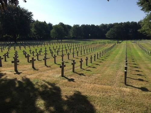 Graves on slopes