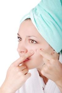 Acne Pop Skin Problem Natural Beauty