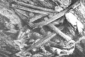 Les Eboulements dans la mine au pays des ch'tis