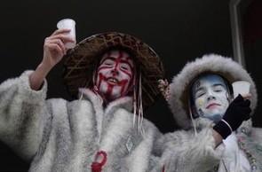Avant Bande au carnaval de Dunkerque