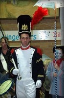 Tambour Major au carnaval de Dunkerque