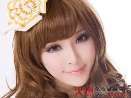 Wing eyelashes model 1