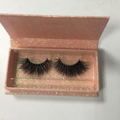 baby pink lash packaging box