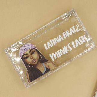 Crystal lash box