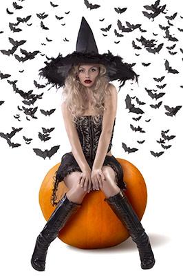 Sorcière Halloween - Aura Noire