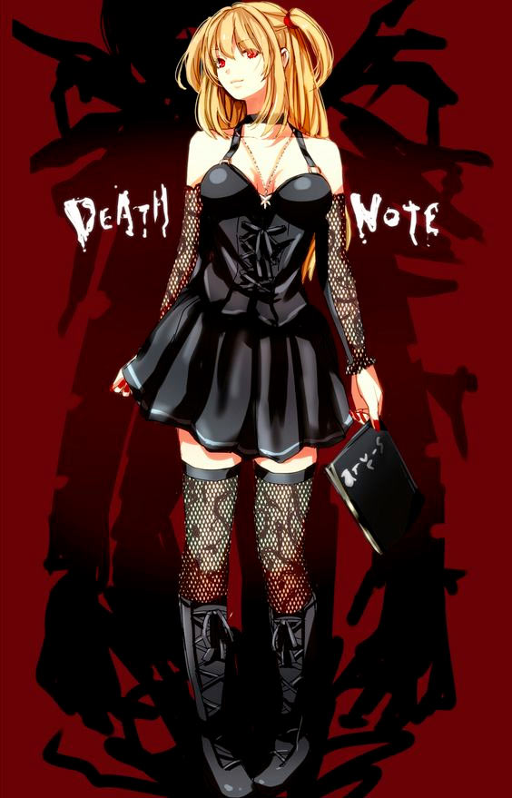 Mangas gothique et dark fantasy - aura noire - death note