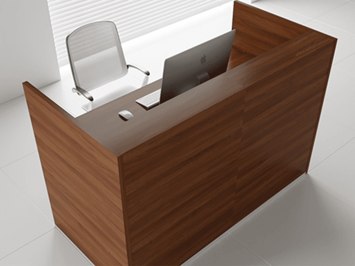 Andreas 1 – Straight Reception Desk -
