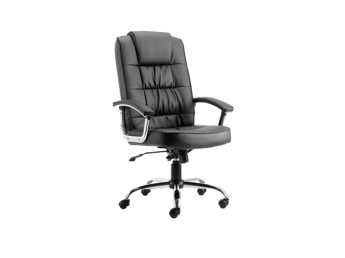 Demi – Bonded Leather Executive Chair in Multicolour