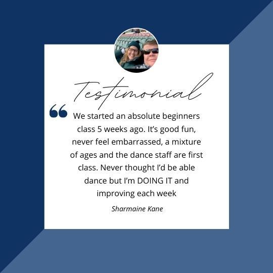 Adults Class Testimonial
