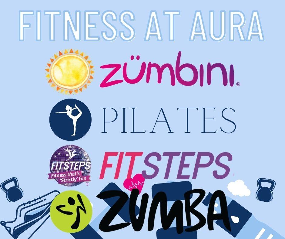 Fitness classes at AURA