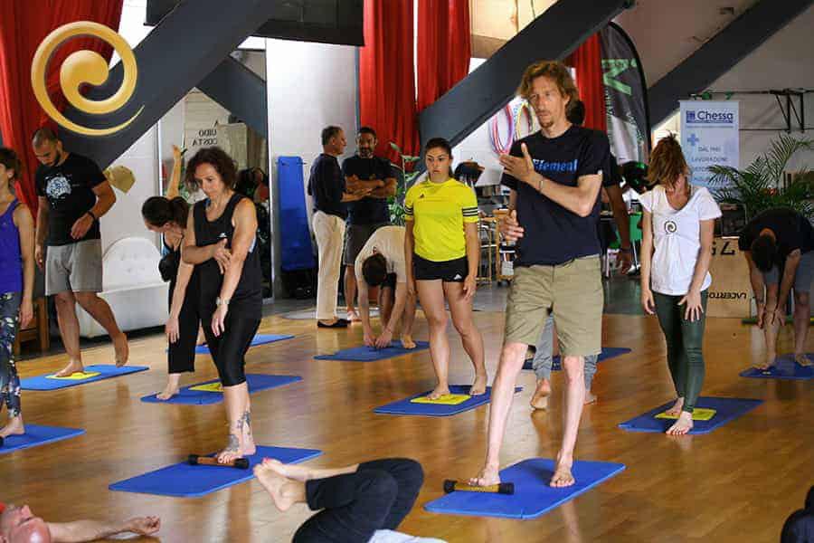 Auramat® Convention 2020 Esercizi   Auramat® - Rigenerazione e Auto Massaggio
