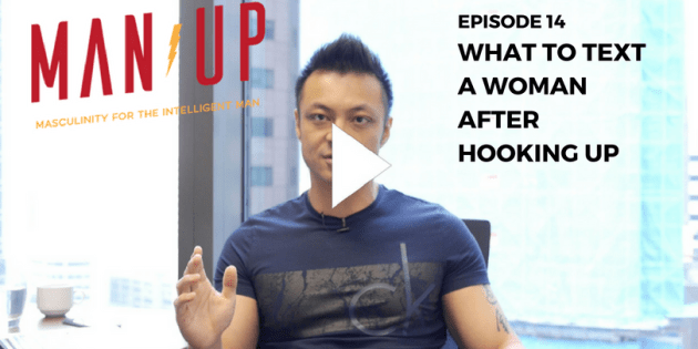 What To Text A Woman After Hooking Up