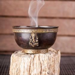 Ganesha Räucherschale