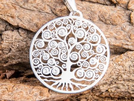 Yggdrasil - Weltenbaum mit 19 SWAROVSKI ELEMENTS