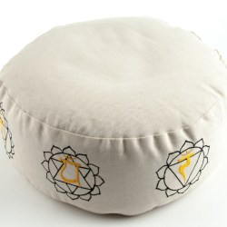 7 Chakra Meditationskissen