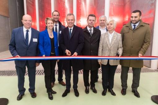 Inauguration soufflerie Jules Verne du CSTB
