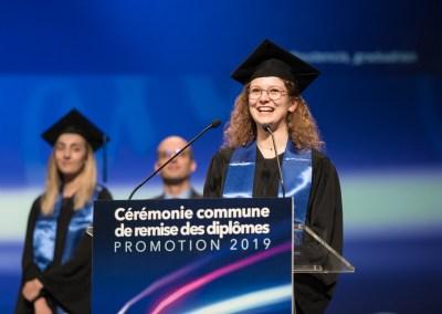 Reportage Cérémonie de remise de diplômes Audencia