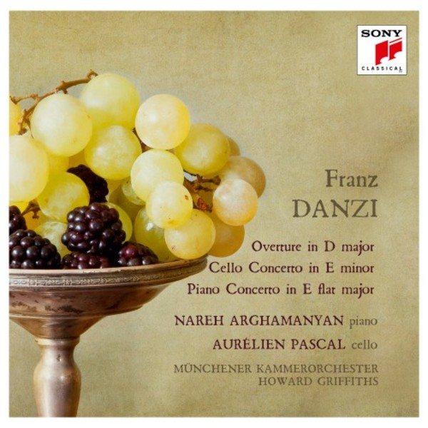 Aurélien Pascal Concerto pour violoncelle Franz Danzi sorti chez SONY CLASSICAL