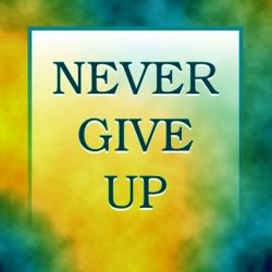 never_give_up_tee