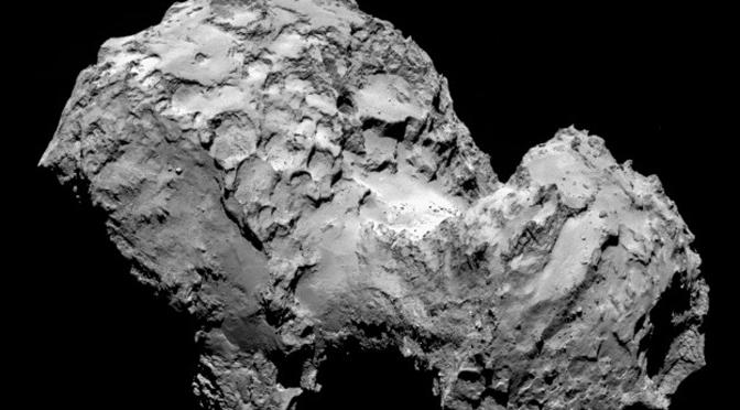 Remote viewer Edward Riordan: Rosetta's target comet 67P