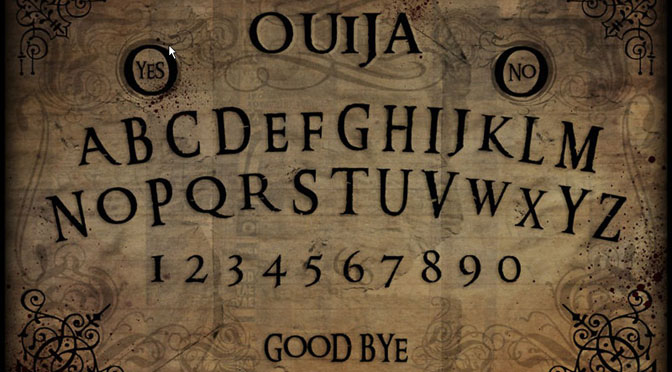Ouija: Not a Game