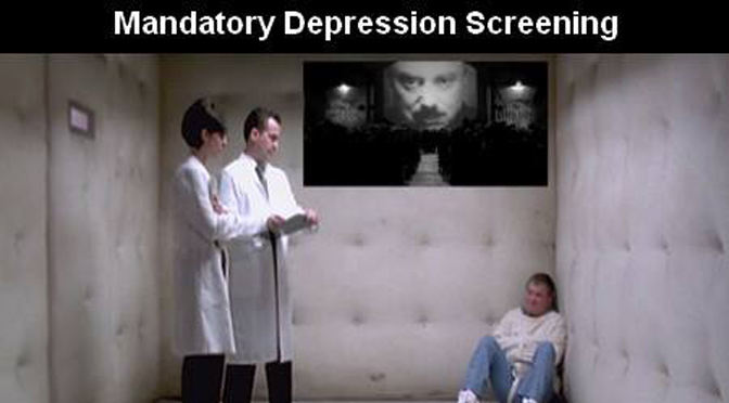 Mandatory Depression Screening