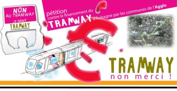 Non au tramway d'Aubagne [Pétition]
