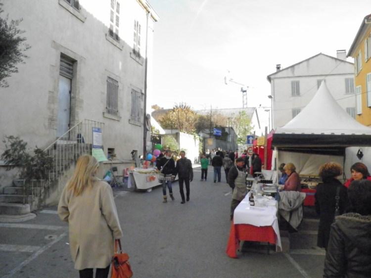 Foire Provençale de Noël 2013 à Auriol